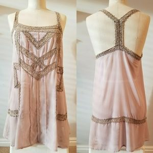 Urban Outfiters sheer boho tank